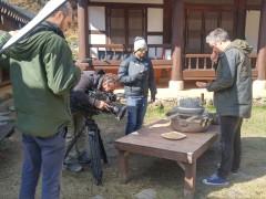 호주 tv 방송에서 안덕마을 체험촬영