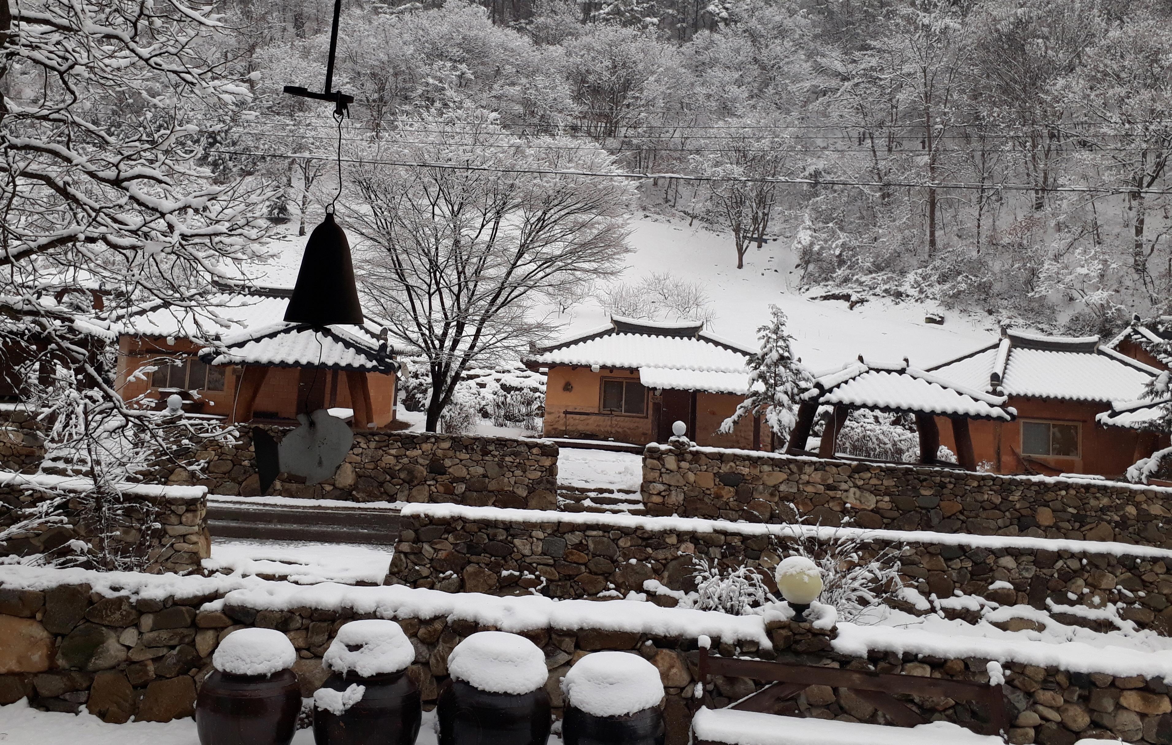 안덕마을 겨울풍경