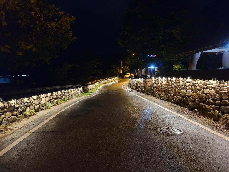 안덕마을 야간경관